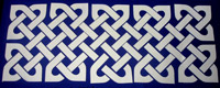 Celtic knot design for scrapbooking