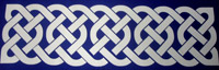 Celtic knot Interlaced scrapbook embellishment
