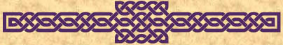 Purple Celtic knotwork bar