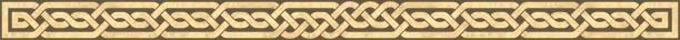 Celtic knotwork bar