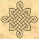 Decorative Celtic knots