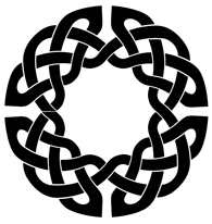 round Celtic knot