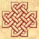3D knotwork cross