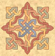 Celtic knot star