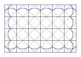 graph paper for drawing Celtic  knots