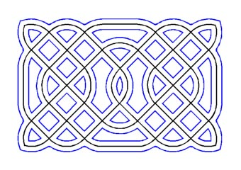 drawing knotwork cord