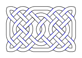 making a Celtic knot
